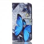 Koženkové pouzdro Galaxy A3 (2016) - Motýl 09
