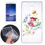 Pouzdro / Obal Xiaomi Redmi 3s - Průhledné - Květy 05