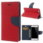 Pouzdro Fancy Diary iPhone 6 - červené