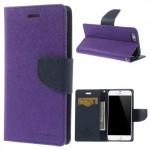 Pouzdro Fancy Diary iPhone 6 - fialové