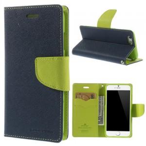 Pouzdro Fancy Diary iPhone 6 - modré