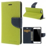 Pouzdro Fancy Diary iPhone 6 - zelené