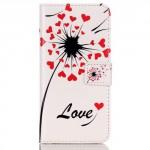 Pouzdro MFashion iPhone 6 - bílé - Pampelišky 03