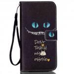 Pouzdro MFashion iPhone 6 - černé- Don´t touch my phone