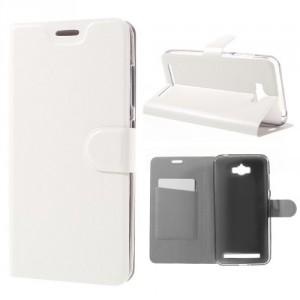 Koženkové pouzdro Zenfone Max ZC550KL - bílé