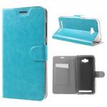 Koženkové pouzdro Zenfone Max ZC550KL - modré