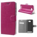 Koženkové pouzdro Zenfone Max ZC550KL - růžové