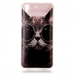 Zadní kryt Huawei Y6 II - Kočka s brýlemi