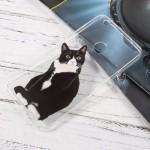 Pouzdro / Obal Huawei P9 Lite 2017 - Průhledné - Kočka 01