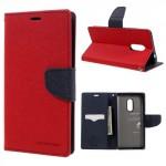 Pouzdro Fancy Diary Xiaomi Redmi Note 4 - červené