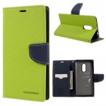 Pouzdro Fancy Diary Xiaomi Redmi Note 4 - zelené