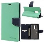 Pouzdro Fancy Diary Xiaomi Redmi Note 4 - tyrkysové