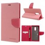 Pouzdro Fancy Diary Xiaomi Redmi Note 4 - růžové