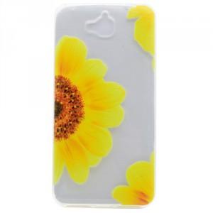 Pouzdro / Obal Huawei Y6 Pro - průhledné - květy