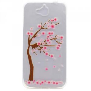 Pouzdro / Obal Huawei Y6 Pro - průhledné - strom