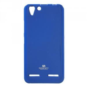 Pouzdro Jelly Case Lenovo Vibe K5 - modré třpytivé