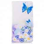 Koženkové pouzdro Nokia 3 - Motýl