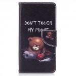 Koženkové pouzdro Nokia 5 - Don't touch my phone