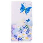 Koženkové pouzdro Nokia 5 - Motýl