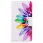 Koženkové pouzdro Nokia 5 - Květ