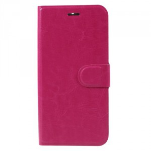 Tenké koženkové pouzdro Nokia 6 - Růžové