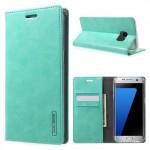 Pouzdro Blue Moon - Samsung Galaxy S7 Edge - tyrksové