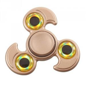 Fidget spinner - růžovozlatý