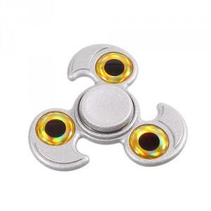 Fidget spinner - stříbrný