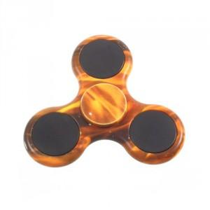 Fidget spinner - oranžový