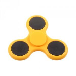 Fidget spinner - žlutý