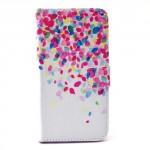 Koženkové knížkové pouzdro Galaxy S6 - Abstraktní vzor