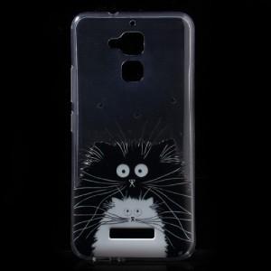 Pouzdro / Obal Asus Zenfone 3 Max ZC520TL - Průhledné - kočky
