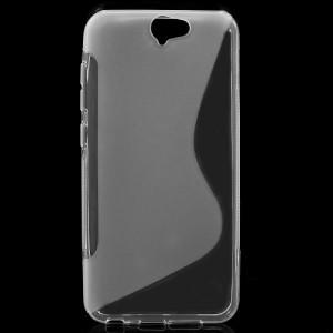 Pouzdro S-Curve HTC One A9 - průhledné