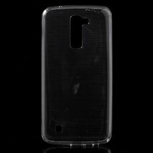 Pouzdro / Obal  LG K10 - průhledné tenké