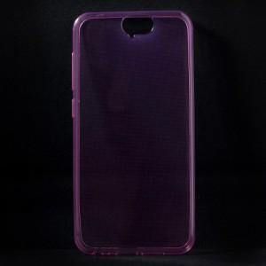 Pouzdro na HTC One A9 - průhledné růžové