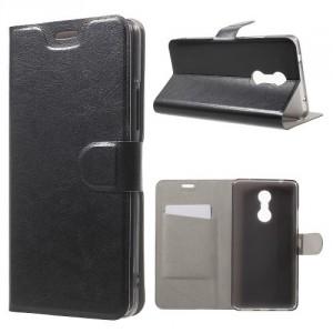 Koženkové pouzdro Lenovo K6 Note - černé