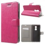 Koženkové pouzdro Lenovo K6 Note - růžové