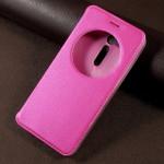 Pouzdro S-view Zenfone Go ZB500KL - růžové