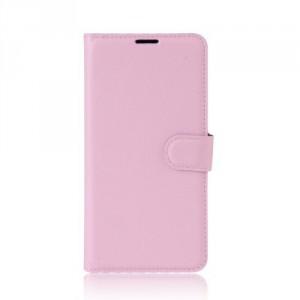 Koženkové pouzdro Moto G5 - světle růžové