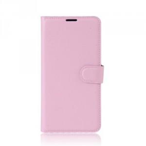 Koženkové pouzdro Alcatel A5 LED - světle růžové