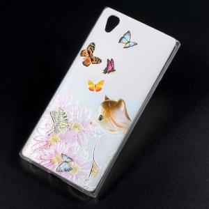 Pouzdro Sony Xperia L1 - motýli