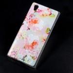 Pouzdro Sony Xperia L1 - květy