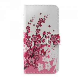 Koženkové pouzdro  Huawei P10 - Květy 03
