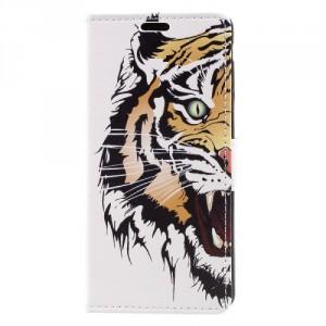 Koženkové pouzdro Nokia 3 - Tygr