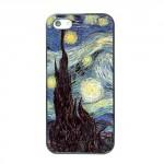Pouzdro / Obal - iPhone 5/5S - Hvězdná noc