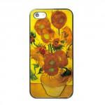 Pouzdro / Obal - iPhone 5/5S - Slunečnice