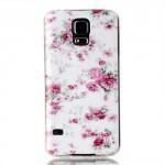 Pouzdro / Obal - Galaxy S5 - Květy