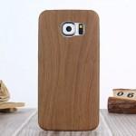 Pouzdro / Obal Galaxy S6 - Tmavé dřevo