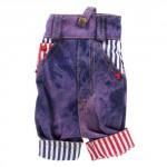 Kabelka na mobil - Kalhoty 01 - fialové