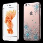 Průhledné pouzdro iPhone 6 - Květy 06